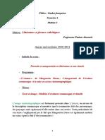 Cours. Littérature et formes esthétiques. 2021. Semestre 6. Pr Fatima Ahnouch.Pdf . (4)