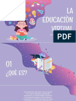 La Educaciòn Virtual