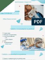 Traqueostomia em pacientes com covid 19