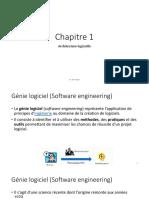 Architecture Logicielle Chapitre 1
