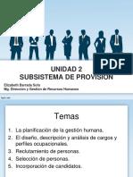 Unidad 2. Subsistema de Provisión Tema 1