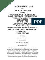 Joseph Beldam-Royston Cave