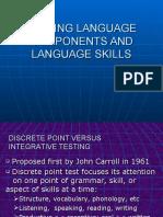 07 1 TESTING LANGUAGE COMPONENT ANND LANGUAGE SKILLS (1)