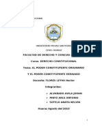 EL PODER CONSTITUYENTE ORIGINARIO