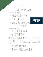 Lista 1 - Algebra Linear - BEE