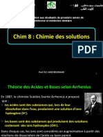 8. Cours - Chimie Des Solutions, 2019 (1)
