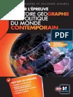 Réussir l'Épreuve Histoire Géographie - Géopolitique Du Monde Contemporain (2)