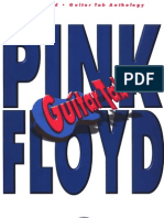 Pink Floyd - Guitar Anthology - Guitar Tablature Book