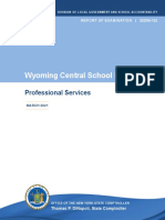 Wyoming Central School audit
