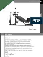 TotalGym 14000 Manual