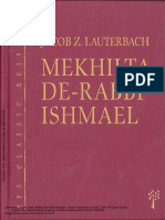 Mekilta de-Rabbi Ishmael