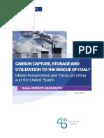 Etude Cornot Carbon Coal 2019