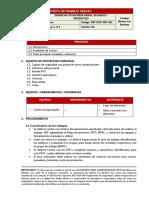 PET-OXP-SSO-021 DESPACHO DE MATERIA PRIMA, INSUMOS Y PRODUCTOS