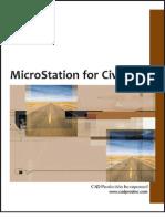 MicroStation for Civil V8i TOC