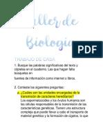 Taller de Biología