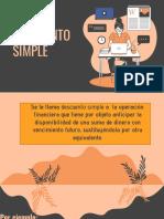 EXPLICACIÓN DE DESCUENTO SIMPLE Y DESCUENTO POR PRONTO PAGO