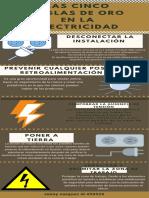 las 5 reglas de oro en la electricidad