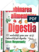 Comb in Area Alimentelor Si Digestia Steve Meyerowitz