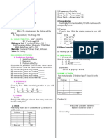 Lesson Plan Math Skip Counting