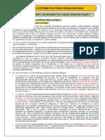 CHAP 1 - 11 - A - Les principes d'un régime démocratique (Cours Sc.po) (2012-2013)