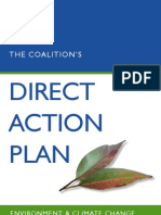 Coalition Direct Action Plan