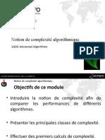 01 - Notion de complexité algorithmique