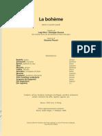 libretto bohème