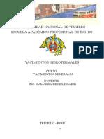 368656794-Yacimientos-hidrotermales-Informe