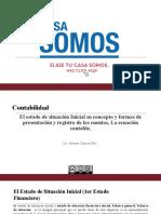 CLASE 5 - El Estado de Situacion Inicial y Ecuacion Contable