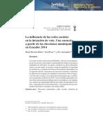 Dialnet-LaInfluenciaDeLasRedesSocialesEnLaIntencionDeVotoU-5304980