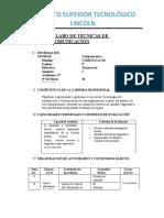 SILABO TECNICAS_DE_COMUNICACION