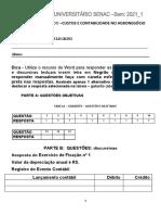 GABARITO_2021_DA_ADO_2ª AUTOAVALIAÇÃO_CC AGRONEGOCIO