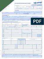 Formulario Único de Afiliación y Registro de Novedades Al Sgsss