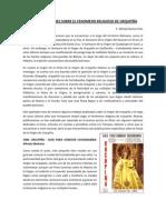 PUBLICACIONES SOBRE EL FENOMENO RELIGOSO DE URKUPIÑA