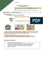 COMPRENSION LECTORA 5-6 LA FABULA 29 DE MARZO