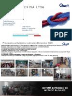 ACTIVIDADES PRINCIPALES SSO DIC 2020