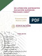 PPT Rechazo Cero  Presentación  Directores UPN V3