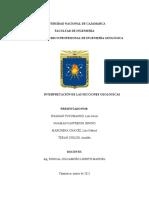 INTERPRETACIÓN DE SECCIONES