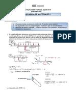 Mecánica Materiales I - Examen Parcial 2018-10 C - Arzapalo