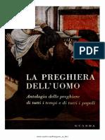Alfonso Maria Di Nola - La Preghiera Dell'Uomo - Antologia Di Preghiere Di Tutti i Tempi
