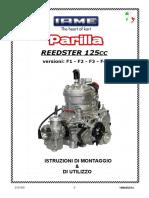051A  ITA_MANUALE INSTALLAZIONE MOTORE Parilla Reedster 125cc
