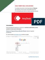 Asistencia Tiempo Real Con Anydesk