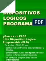 DISPOSITIVOS LOGICOS PROGRAMABLES