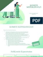 Power Point Komite Keperawata dr. slamet