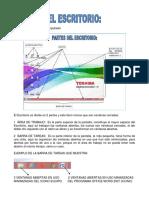 ESTUDIO DEL ESCRITORIO DE WINDOWS 8.1