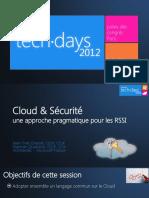 cloudscurituneapprochepragmatiquepourlesrssi-130409074445-phpapp02