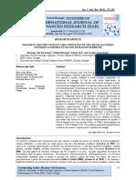 ISOLEMENT, IDENTIFICATION ET CARACTERISATION DE SOUCHES DE BACTERIES ACETIQUES A PARTIR DUN ALCOOL DE MANGUE FERMENTE