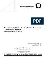 255400202R9.7.0.0_V1_Lucent Gateway Platform PlexView Advanced Reporting System (ARS) Release 9.7.0.0 Advanced Traffic Collection Installation & Setup Guide