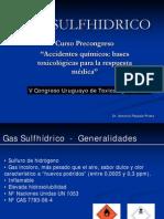 10. Gas Sulfhidrico