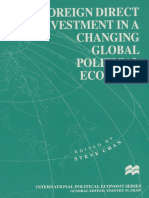 Foreign Direct Investment in a Changing Global Political Economy
